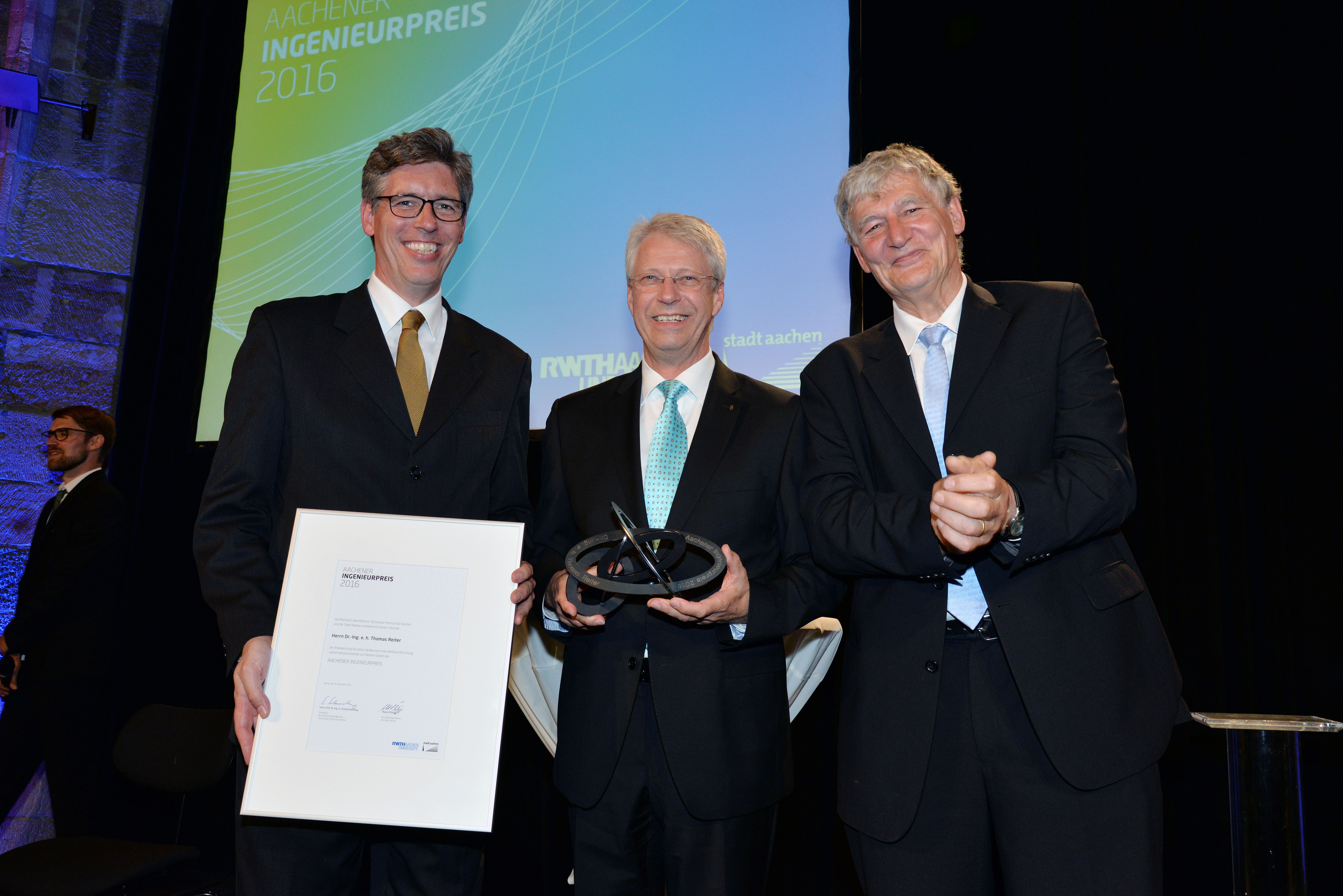 Aachen Engineering Award 2016